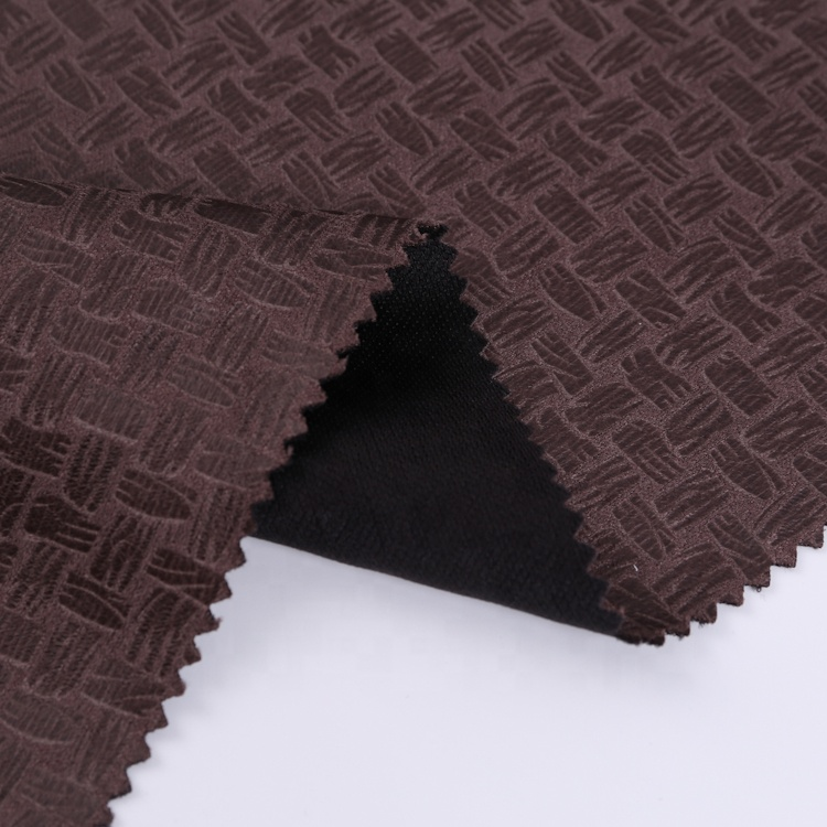 High Quality Foil Print Bonded Suede Excellent Design Safety Snakeskin Recycle Polyester Fabric For Garment