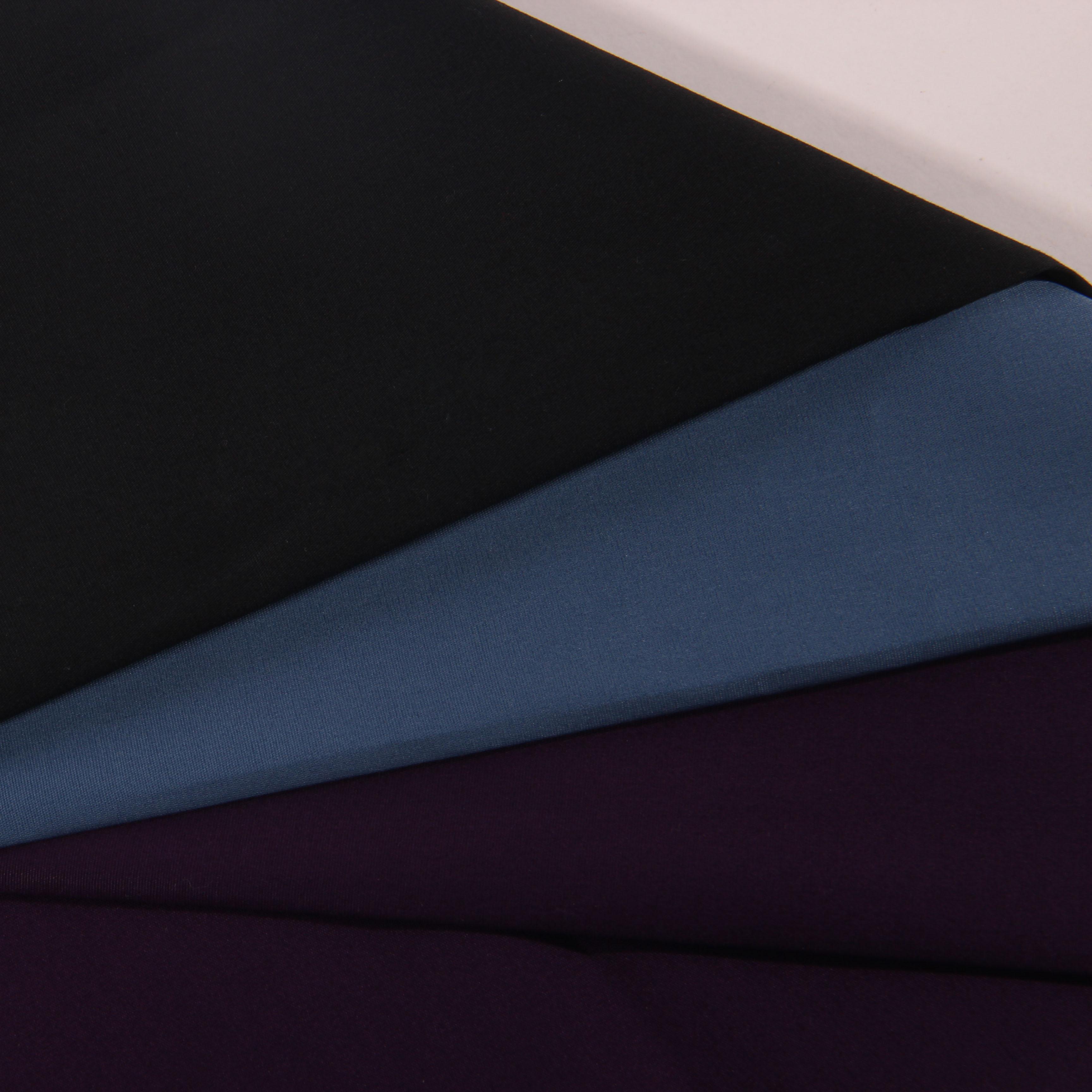 98% Хлопок 2% спандекс деловая повседневная юбка и рубашка для девочек модная, оборот в минуту (R/S Окрашенные плотная Лайка из эластичной ткани