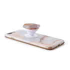 Mobile Phone Beautiful Stone Mobile Phone Holders Unakite Hexagon Stone Phone Grip