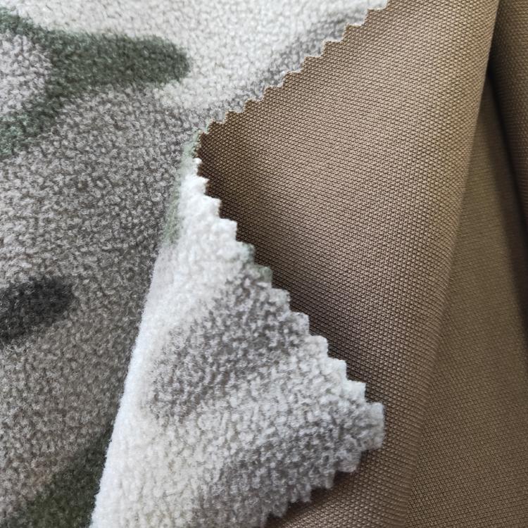Китай производитель 100% полиэстер 380GSM водонепроницаемый скрепления ткани