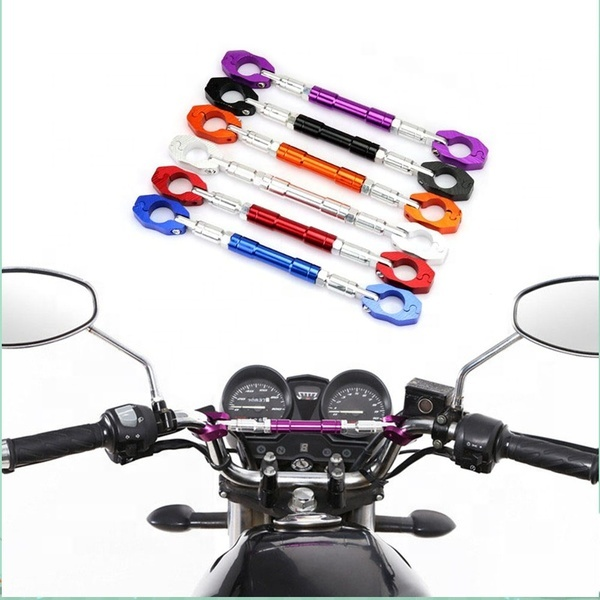 "Adjustable Motorcycle Balance Crossbar 7//8/"" 22mm Handlebar Strengthen Lever Bar"
