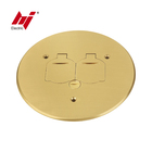 China Supplier Brass Electrical Flip Socket Cover with Receptacle