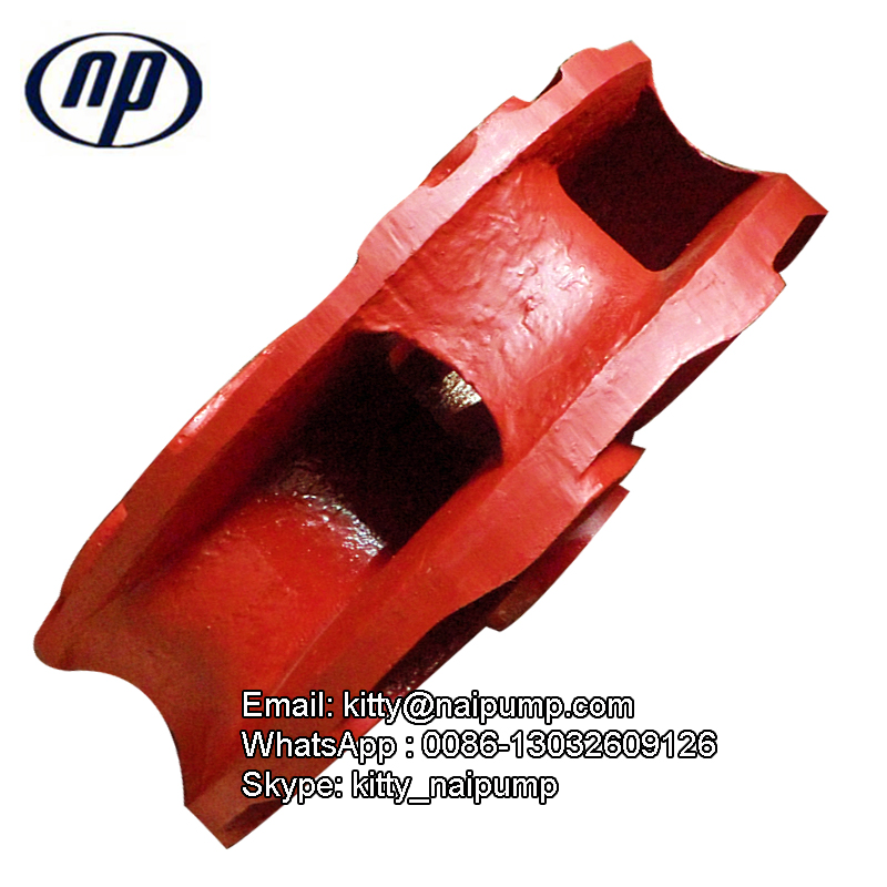 6/4E OEM Slurry Pump Vane High Chrome Impeller E4147A05 6/4E OEM Slurry Pump Vane High Chrome Impeller E4147A05
