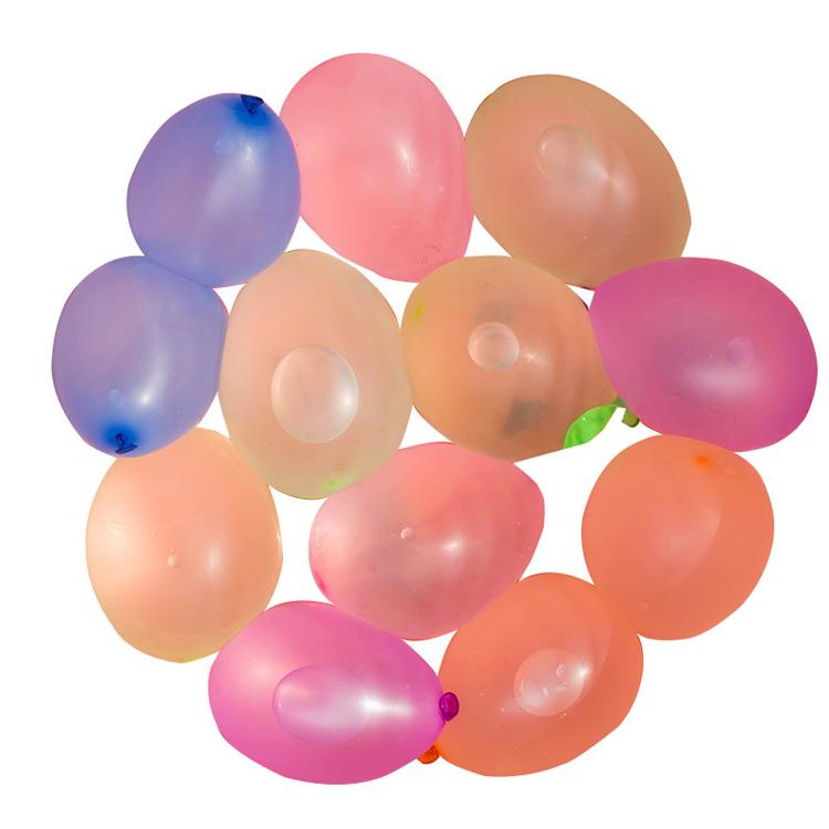 Лидер продаж на Amazon, 111 шт. водных шаров, быстрозаполняющие забавные летние уличные игрушечные шары, водные шары, самозапечатывающиеся, для продажи