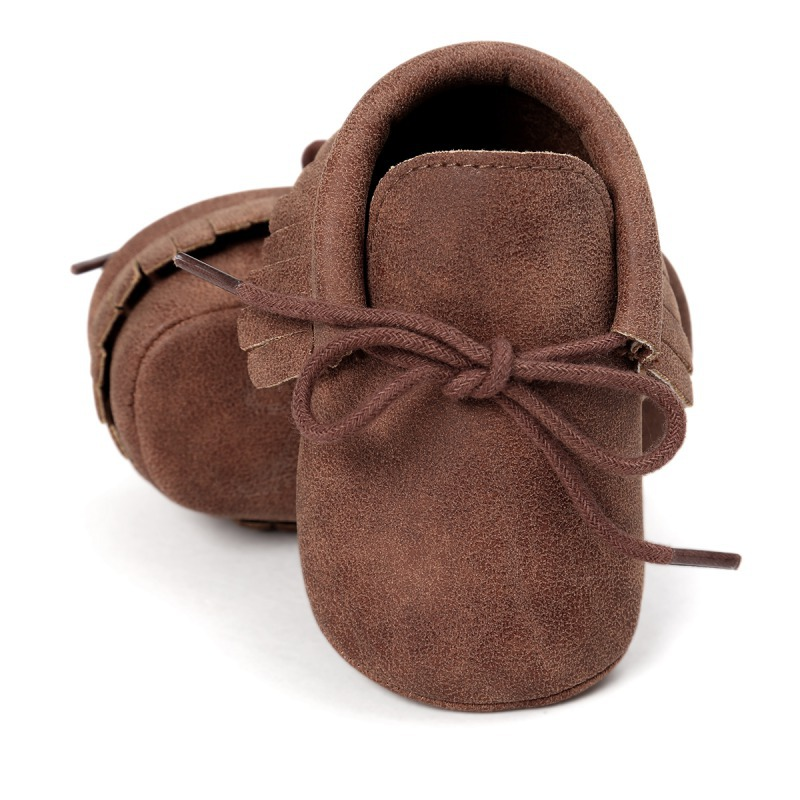 Hot Baby Shoes New Autumn / Spring Newborn Boys Girls Toddler Shoes PU Leather Baby Moccasins Sequin Casual Sneakers 0-18M