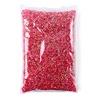 Pink resin rhinestone