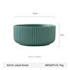 6inch green salad bowl