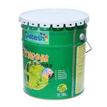 hight quality waterproof bamboo carbon emulsion interior Building Coating