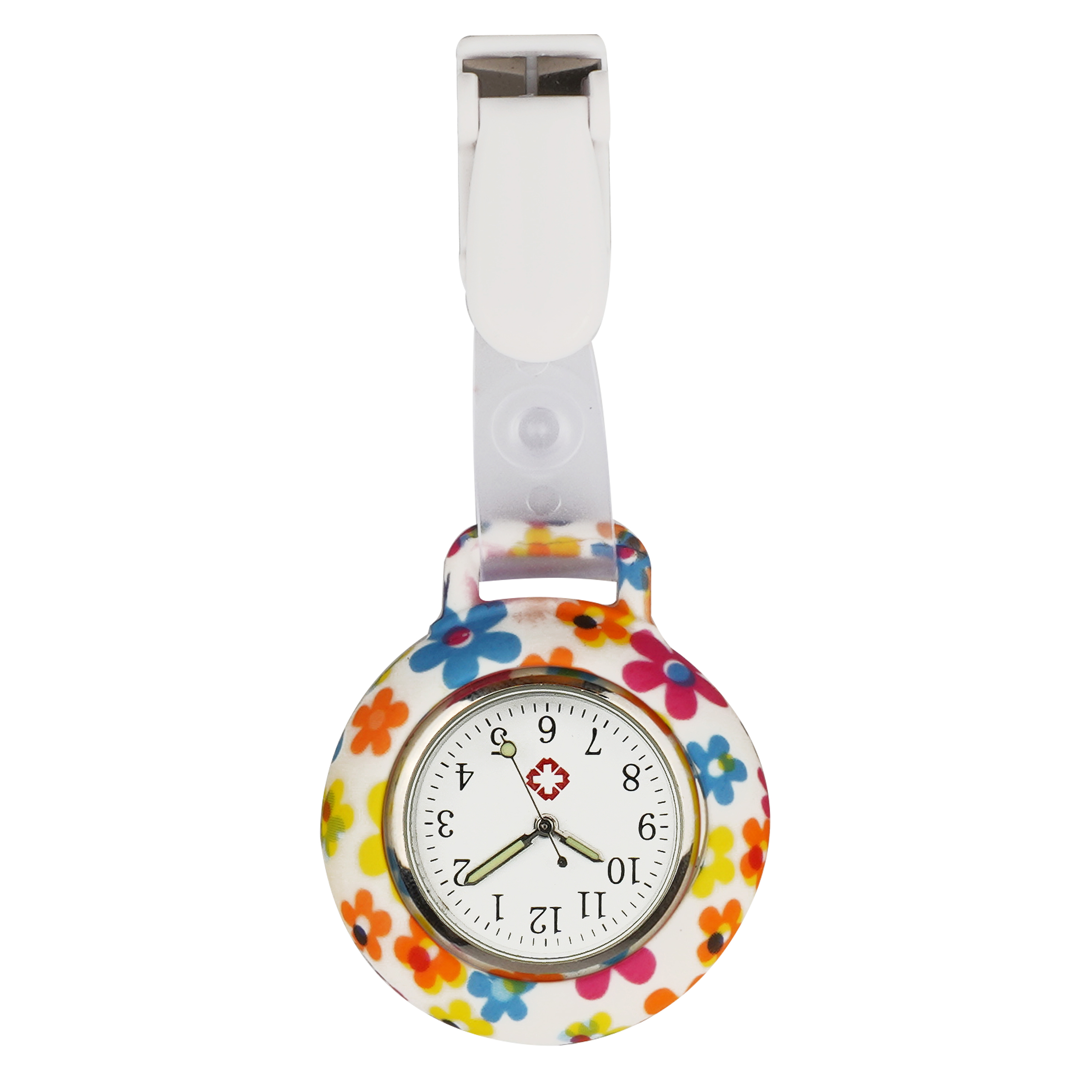 New Silicone Nurse Watches clip pattern full printing designs