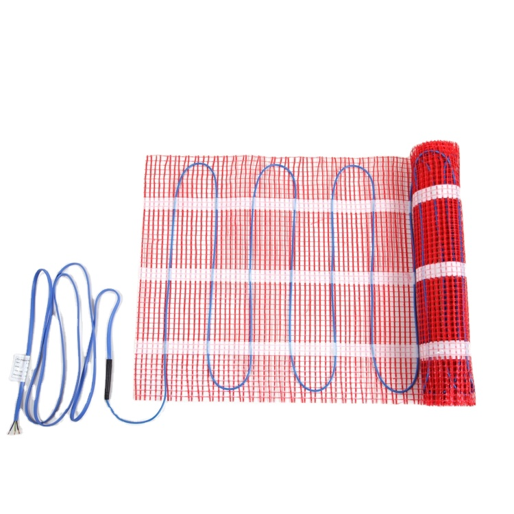 twin conductor pvc fep electric under tile marble wooden floor heat mat