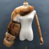 Brown fur sleeve