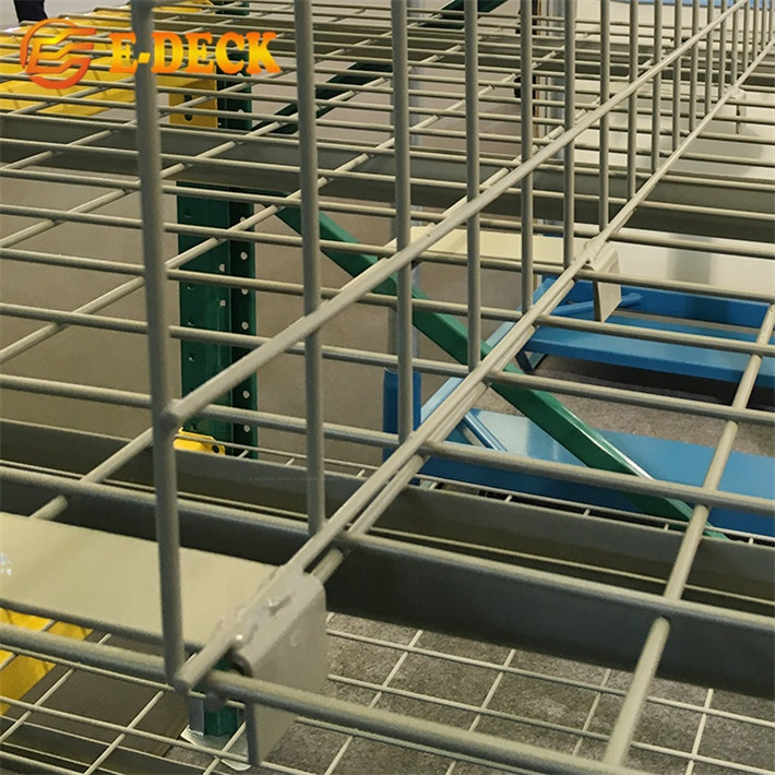 Оптовая продажа с фабрики, подставка, зажим для полки на разделителе, стойка для склада, застежка в проволочной сетке, разделители для палубы