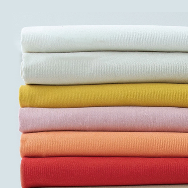 FR fabric twill 100% cotton with flame retardant manufacturers fire repellent fabric