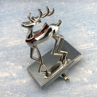 Christmas Stocking Holder Stockings Stocking Hook Mantel Christmas Decorations Silver Deer Stocking Holder Hook Xmas Stockings Decor