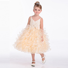 Kids Kids Party Dresses Custom High Quality Children Girl 7th Birthday Party Dress Pink Dress For Gilr Kids