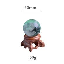 1 шт. стильные кристаллы кварца шар драгоценные камни натуральное украшение камнями домашний декор целебные минералы wicca гладкие пьедры DIY п...(Китай)
