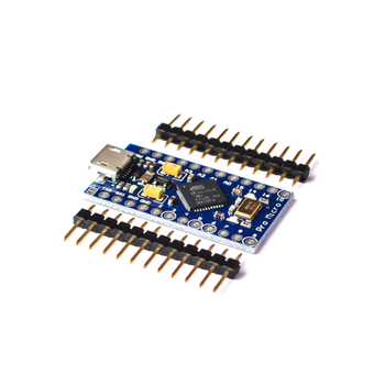 Pro Micro ATmega32U4 5V 16MHz Replace ATmega328 For Arduinoo Pro Mini With 2 Row Pin Header For Leonardo Mini Usb Interface