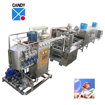 Automatic lollipop making machine price for snack food