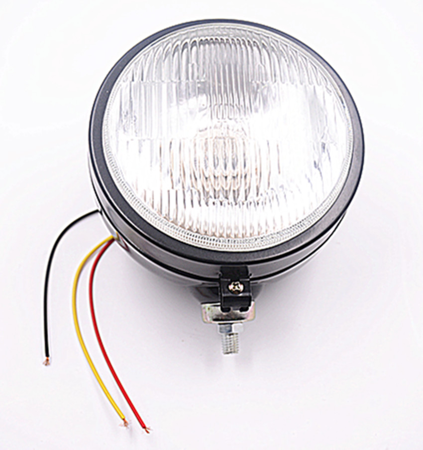 4164-1 mt3 agriculture machinery parts mtz tractors  flat round light headlamp auto lighting system
