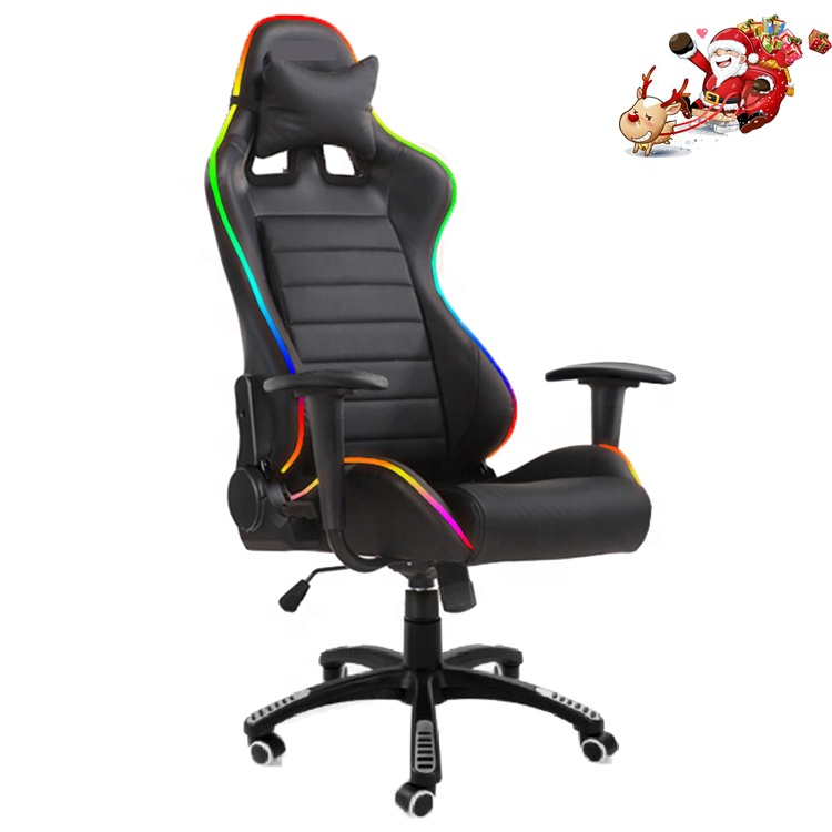 Wst1001 Led Light Gaming Chairs Kids Gaming Christmas Office