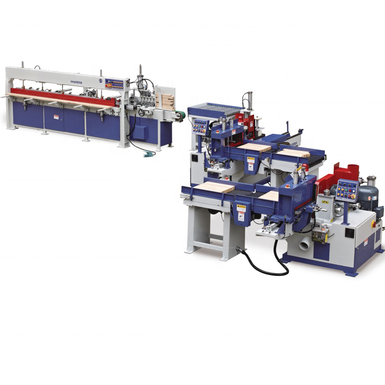 FJL150B-6M Hot Sale New Type Motor Driven Wood Semi-Auto Finger Jointing line Finger Joint Machine