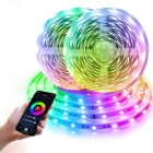 12v 7W/9W/14W RGB wifi tuya led smart strip light waterproof IP65 grade decoration led lighting