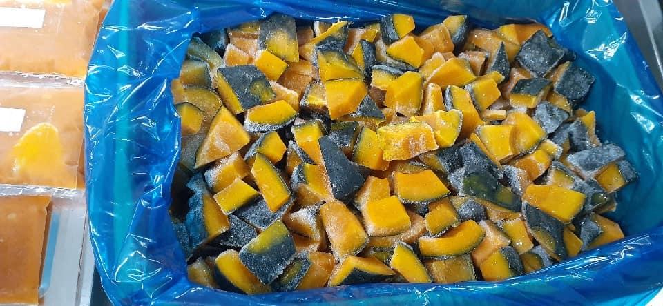 Frozen fresh pumpkin from vietnam Whatsapp +84-845-639-639