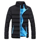 Men Coat Winter New 100% Polyester 500g DIY Print Logo Jacket Men Casual Asian Size M-6XL 7 Colors Design Hooded Thick Coat 1316-5513