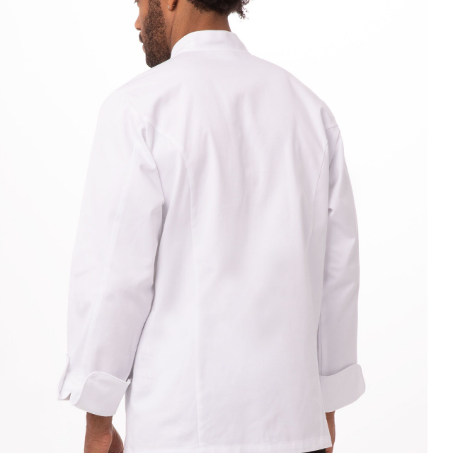 White cheap short sleeve Executive chef cooking Uniform Coat design