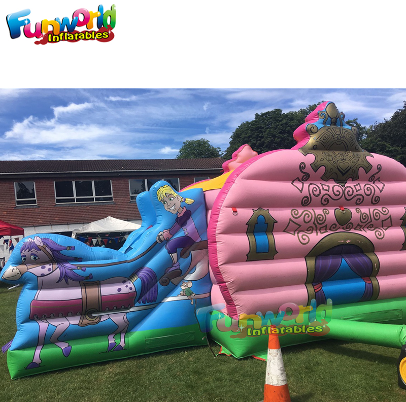 Cheap price carriage bouncy castle commercial inflatable bounce house bouncy castle wholesale