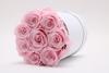 8 Roses Round Box