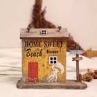 Wood YBOX Handmade Wood House With Light Home Decor Teaching Aids American Ocean Style Art Crafts