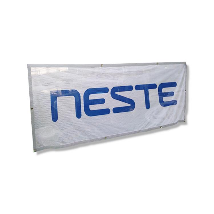 OEM, изготовленный на заказ Наружный сетчатый баннер, гибкий рекламный виниловый баннер
