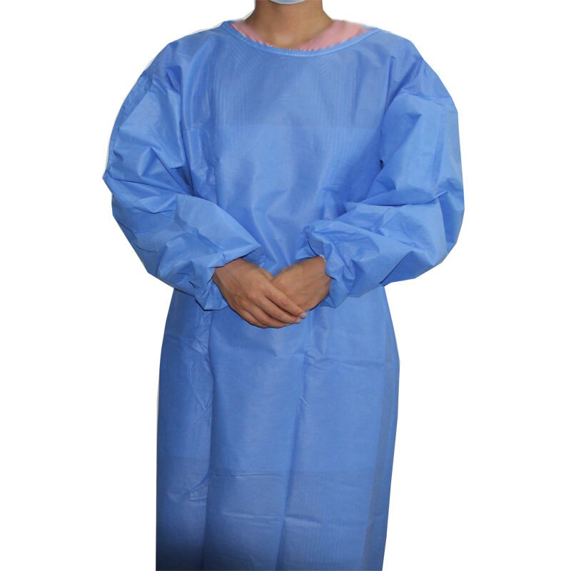 Disposable Waterproof Non Woven Nursing Uniforms Waterproof And Easy-breath SMS Suit Twosie - KingCare | KingCare.net