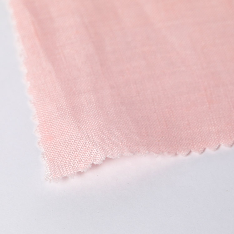 Тканая ткань 100% чистая одежда брюки тонкая льняная рубашка ткань