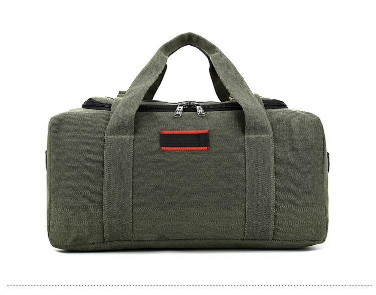 best men's waterproof heavy duty extra large black duck canvas duffle bag