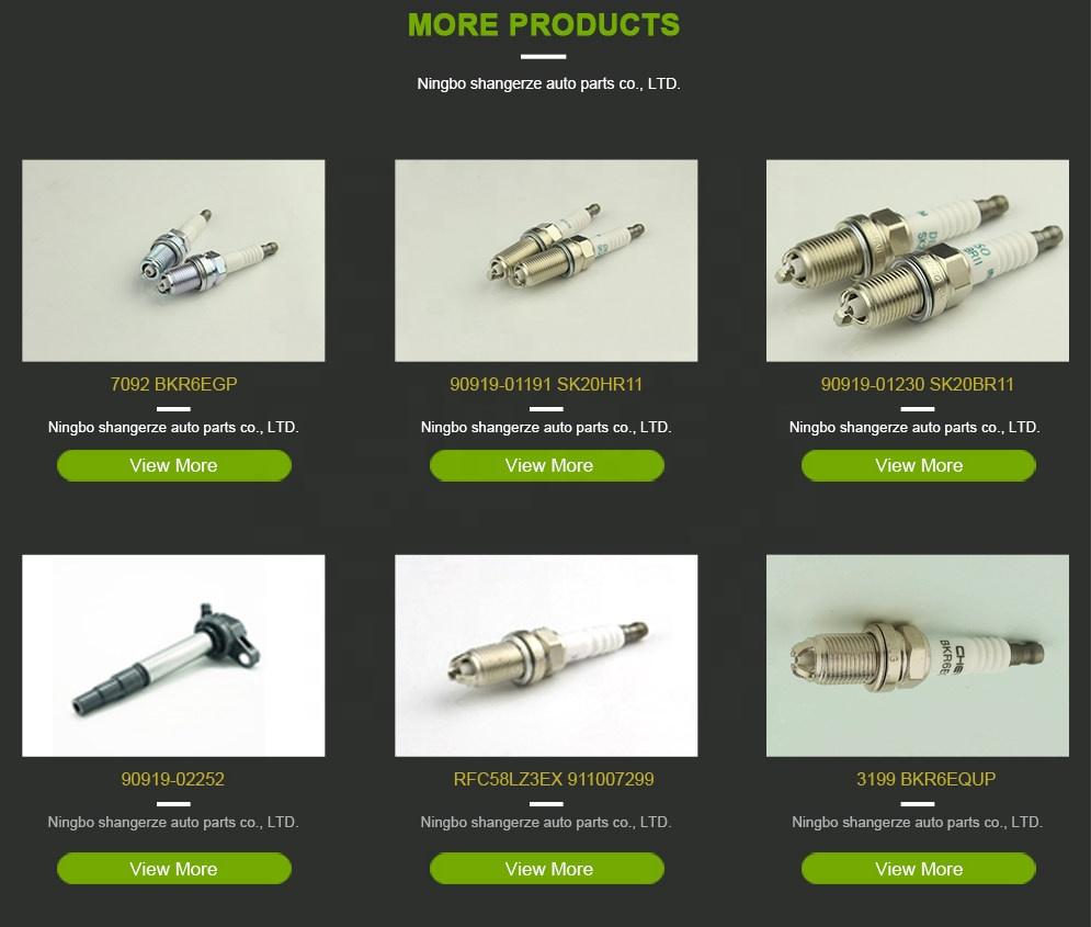 Special Design Widely Used OEM Standard Size BKR6EGP SPARK PLUG