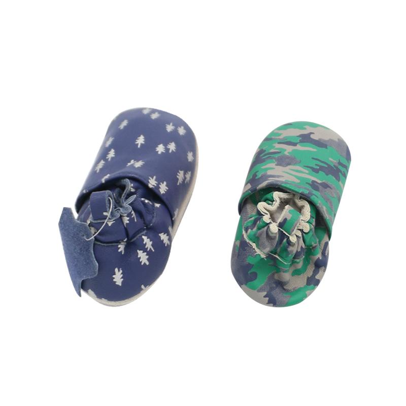 Новое поступление 2021 стильная Экологически чистая удобная обувь для малышей ручной работы из кожи