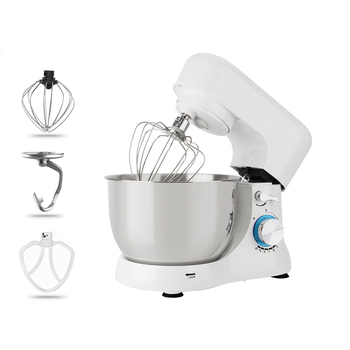 1000w Mini Stand Food Mixer 5L For Kitchen With Double Dough Hooks Kitchen Food Stand Mixer Cream Egg Whisk Blender