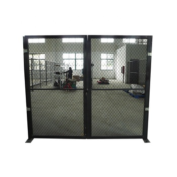Robot safety fence factory protection workshop partition isolation network customized in Shanghai