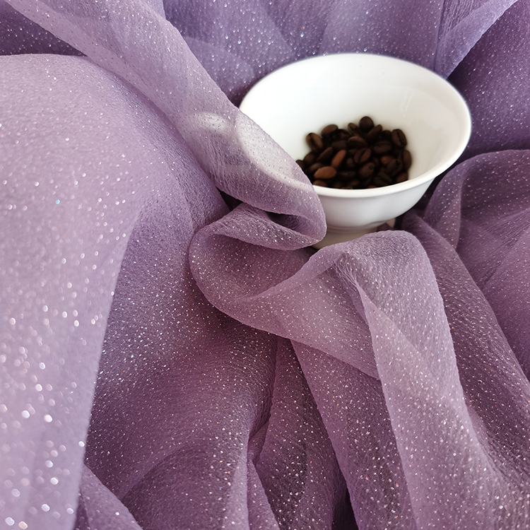 Foil Organza Fabric 11 Colors RTS 100% Polyester Tulle Voile Fabric,Fabric For Wedding Decoration,Party Dress