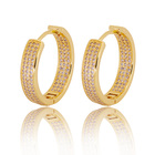 Hoop Earrings Earrings Earrings For Hoop 2020 New Fashion Jewellery Brass Round Luxury Hoop Earrings For Women