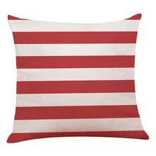 Домашний декор наволочки для подушек красные геометрические наволочки, покрытия для подушек для дивана 45*45 декоративные наволочки для поду...(Китай)
