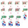 random christmas pendant or remark 01-15