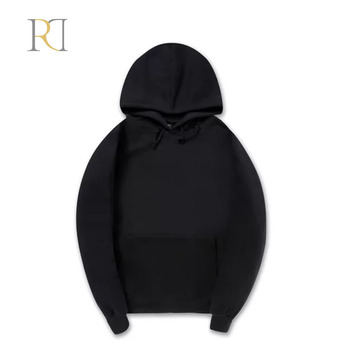 Wholesale best price draw string men cotton hoodie slim fit