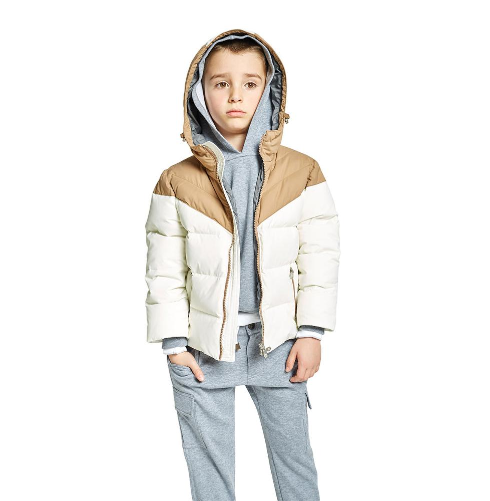 Children Clothing China Supplier Cotton-Padded Hooded Jackets For Boys Winter
