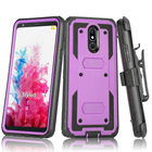 Case For Holster Shell Defender Phone Case For LG Harmony 4 Rugged Heavy Duty Protection Holster Belt Clip Shockproof Cover