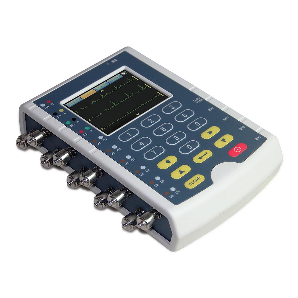 Venda por atacado rápido ce iso aprovado ms400 12 cabo ecg respiração temperatura ibp monitor do paciente simulador multiparâmetro