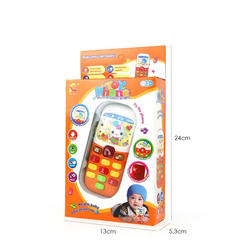 2019 Детский обучающий электронный мобильный телефон для раннего развития