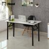 warm white desktop, black legs